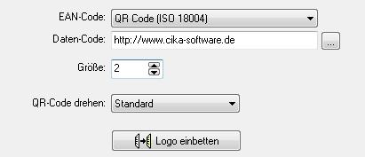 Logo einbetten