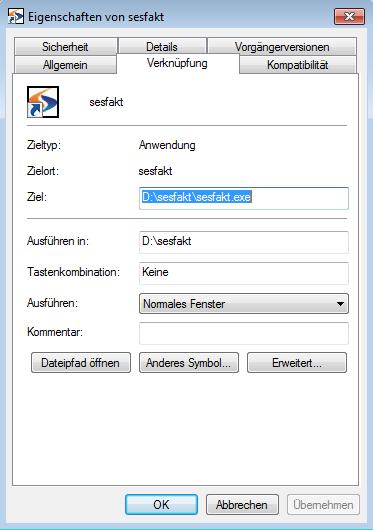 Desktopverknüpfung