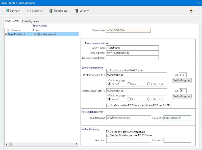 emailparameter